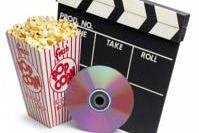 Cinema - popcorn and movie