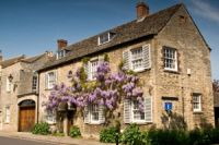 House with wisteria