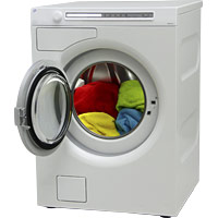 ISE hot fill washing machine