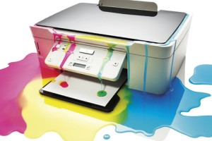 Printer ink waste