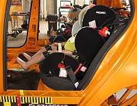 Crash testing car seats