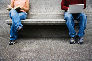 Laptop-bench