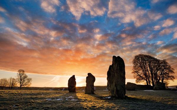 Avebury prehistoric stone circle, Wiltshire