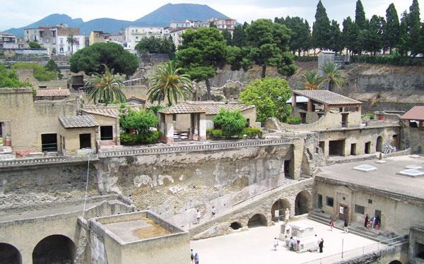 Herculaneum near Pompeii, Naples, Italy