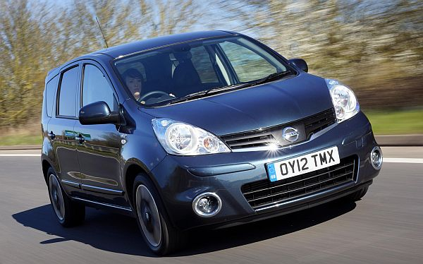 Nissan Note n-tec+ front