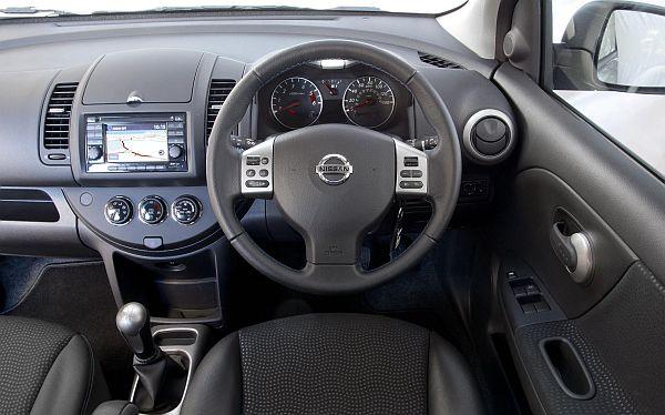Nissan Note n-tec+ interior