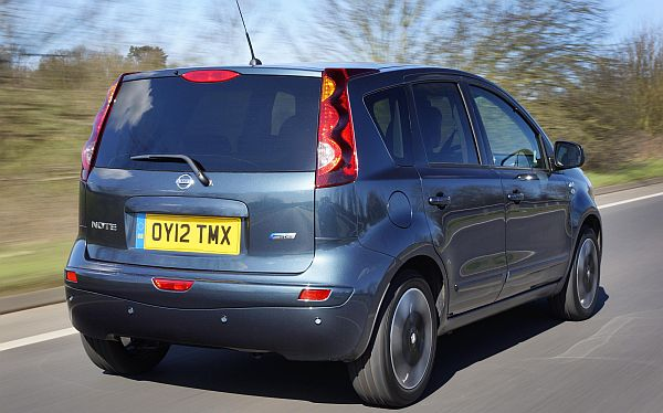 Nissan Note n-tec+ rear
