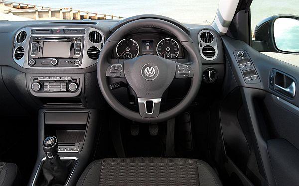VW Tiguan Interior