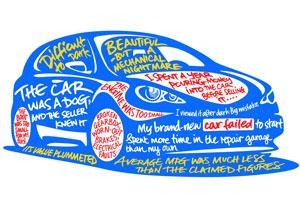 Car-buying regrets