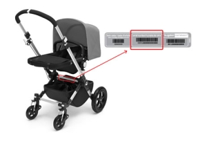 Bugaboo Cameleon 3 serial number location
