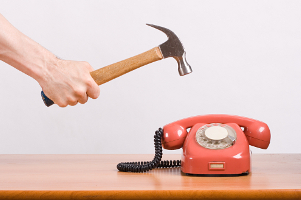 Nusiance calls - smashing phone