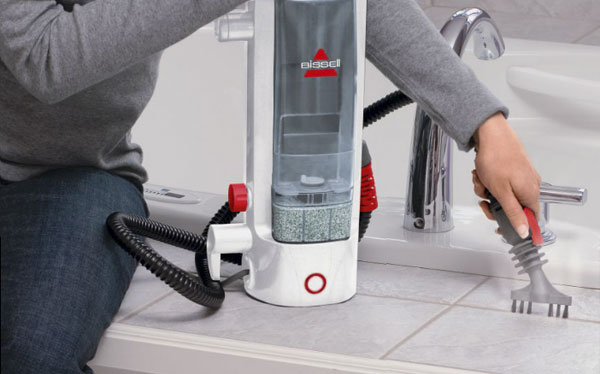 Steam cleaner - Bissell Lift Off steam cleaner