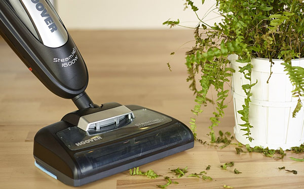 Steam cleaner - Hoover SteamJet Steam and Sweep steam cleaner