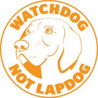 Watchdog not Lapdog logo