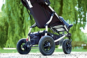 Second-hand pushchairs