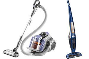 Two AEG vacuum cleaners