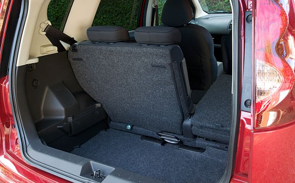Nissan Note Acenta boot