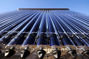 Solar thermal heating