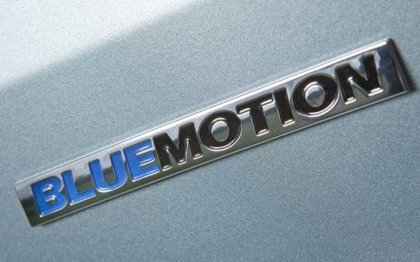 VW Polo Bluemotion logo