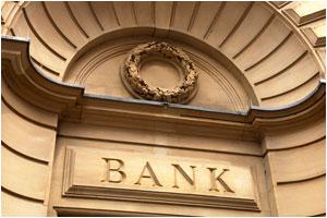 bank sign exterior