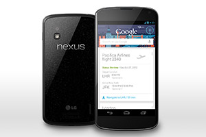 Google Nexus 4 mobile phone
