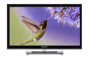 Sharp LC24DV25 TV DVD combi
