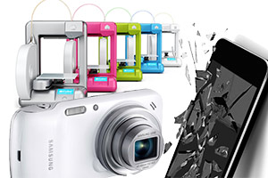 Cube 3D printers, Samsung Galaxy S4 Zoom and mobile phone