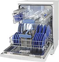 Bosch SMS53A12GB freestanding dishwasher