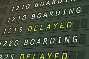 Delay-sign-on-departure-board