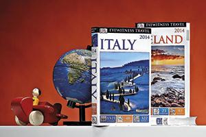 Eyewitness guidebooks globe toy aeroplane