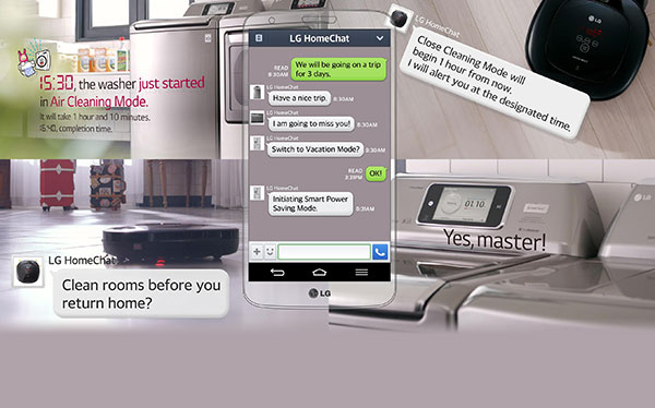 LG Home Chat technology
