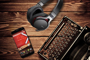 Tech round up Moto X Jazz headphones typewriter