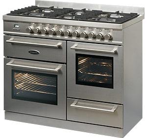 Britannia RC-10XGG-QL-S range cooker