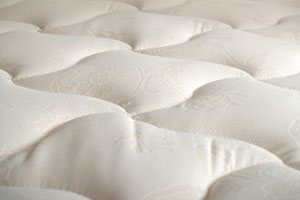 Close-up of a mattress