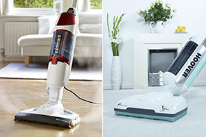 Hoover Totality and Bissell Vac & Steam