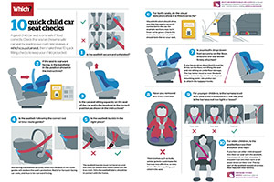 How to fit a child car seat PDF information sheet