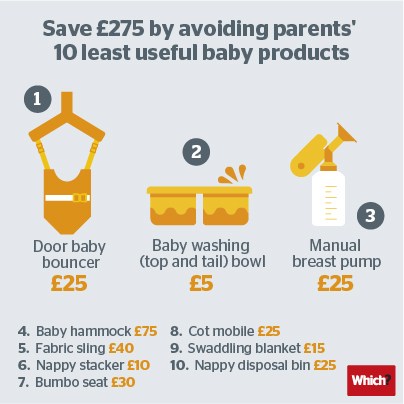 10 least useful baby products