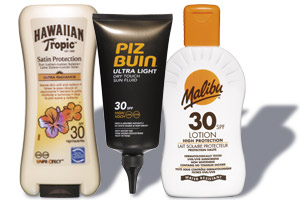 Suncream products