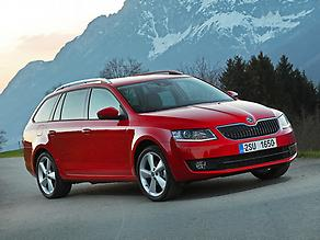 2013 Skoda Octavia Estate 1