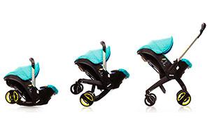 Doona child car seat and pushchair hybrid