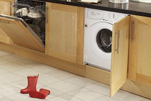 Intergrated washing machine