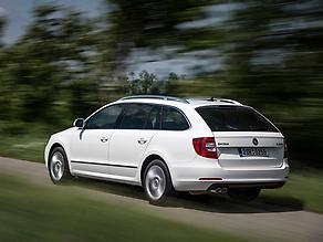 Skoda Superb Estate 2013 2