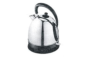 Asda Stainless Steel Traditional Kettle