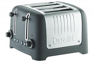 Dualit Stoneware Lite four slice toaster