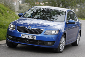 Skoda Octavia handles like a VW Golf