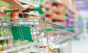 Which supermarket was cheapest in July?