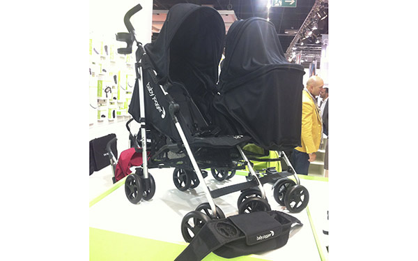 Baby Jogger Vue double pushchair