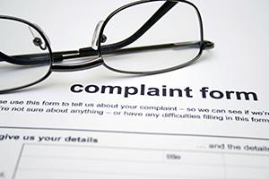 Energy complaint