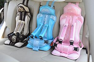 Fabric child car seats are illegal in the UK