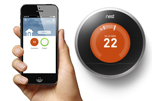 Nest heating controls